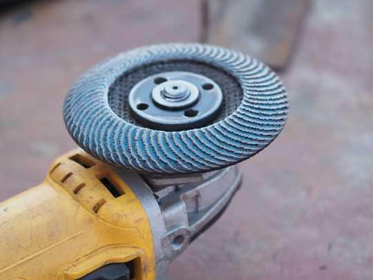 Шліфоўка бетоннай падлогі