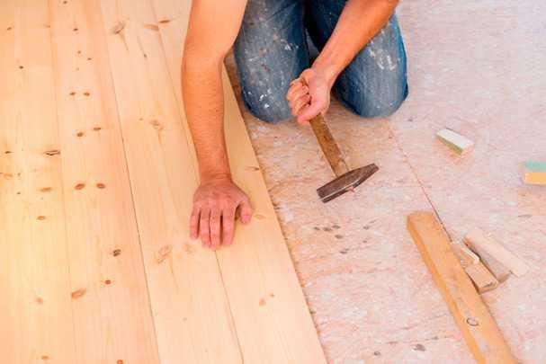 Как выровнять пол в деревянном доме: простой и надежный способ