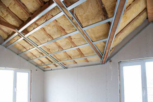 Утепление потолка в квартире и частном доме: как перестать мерзнуть и начать жить