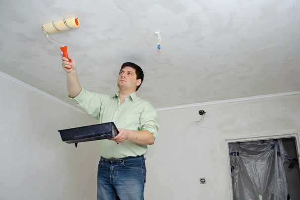 Побелка потолка известью — пошаговое руководство для бюджетного ремонта