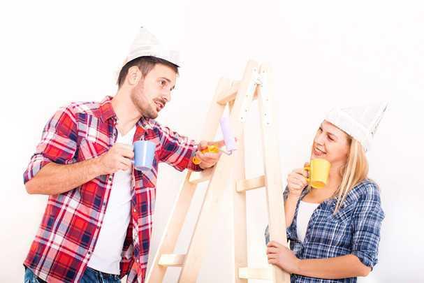 Как и чем покрасить потолок из гипсокартона своими руками: от «А» до «Я»