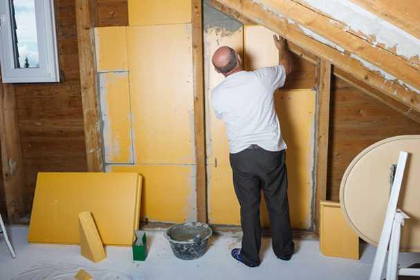 Как утеплить стену пеноплексом — подробный рассказ о работе с самым лучшим материалом