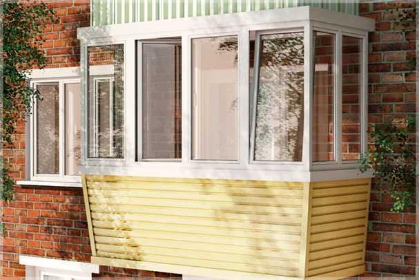 Как правильно обшить балкон сайдингом, не тратясь на мастеров — пошаговая инструкция