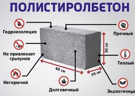 Плюсы и минусы полистиролбетонных блоков — рекомендации по применению от экспертов
