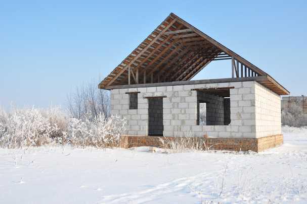 О том как я дом из газобетона своими руками строила фото 622