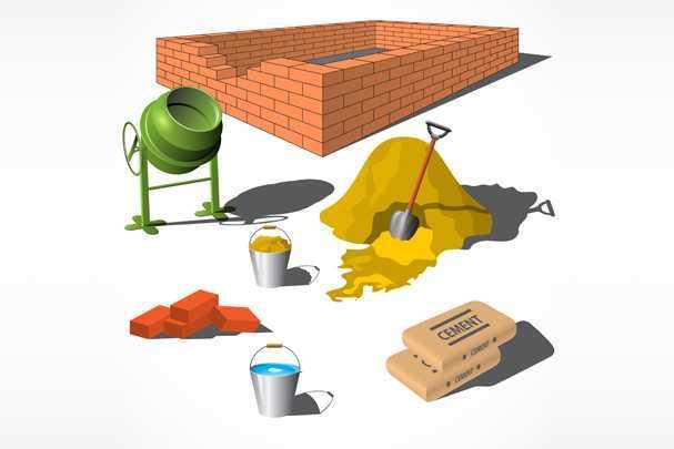 Расчет цемента на фундамент для дома: закупаемся без лишних затрат