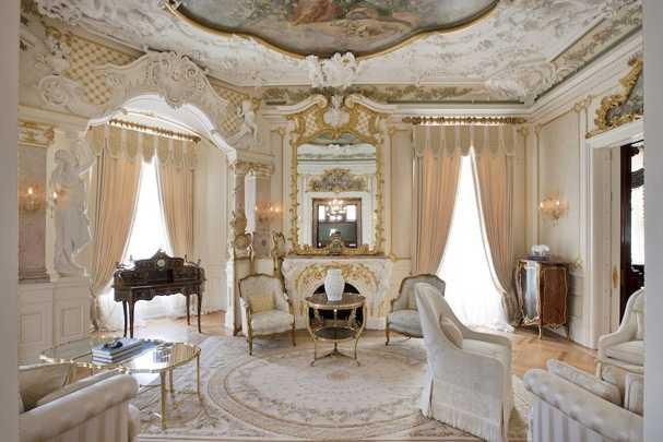 Шик и величие стиля рококо в интерьерах современных домов