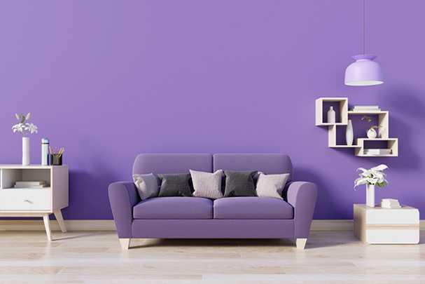 Использование фиолетового цвета в дизайне интерьеров: создание таинственной и элегантной атмосферы