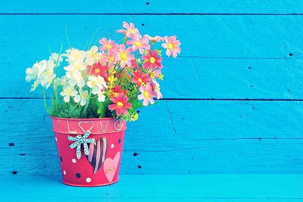 Как сделать стильный декор цветочных горшков своими руками