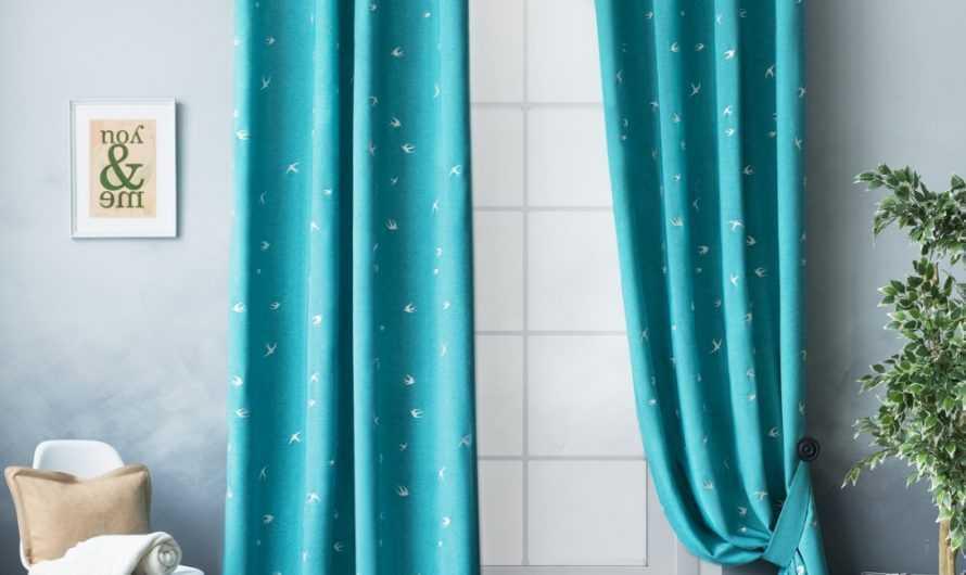 Бирюзовые шторы: нюансы использования бирюзовой гаммы в интерьере. Подходящие материалы тканей бирюзового цвета (160 фото)
