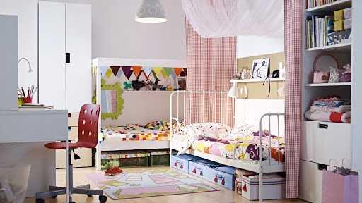 Детские кровати IKEA: полный список моделей и новинок из каталога магазина. Фото готовых решений по размещению кроватки от ИКЕА в детской комнате