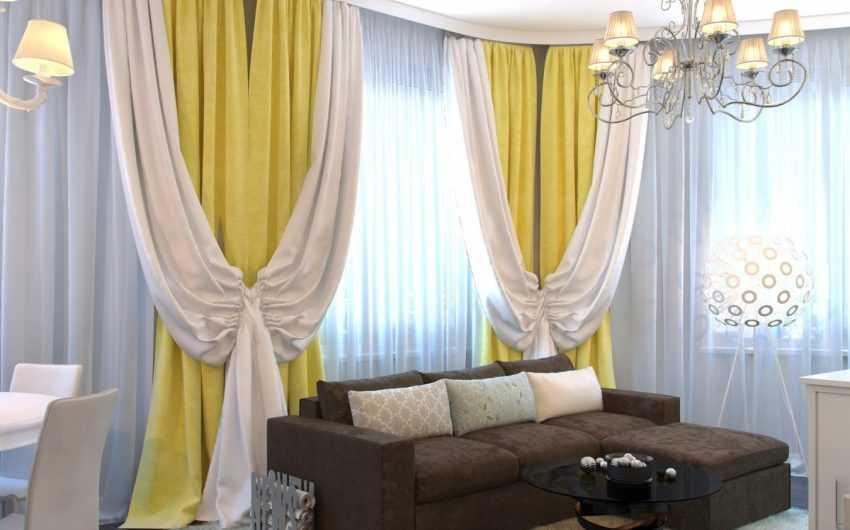 Двухцветные шторы: ТОП-170 фото идей комбинирования штор в интерьере. Палитра сочетания цветов и фактур тканей двухцветных штор