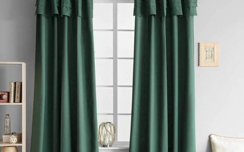 Зеленые шторы: обзор новинок дизайна (130 фото). Примеры идеального сочетания штор с зеленым оттенком в интерьере